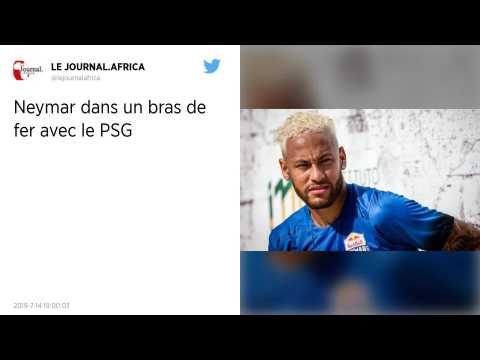Mercato : Neymar lance le bras de fer avec le Paris Saint-Germain