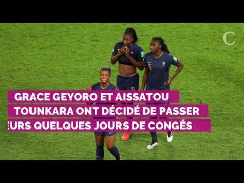 PHOTOS. Eugénie Le Sommer, Wendie Renard, Viviane Asseyi… Déco...