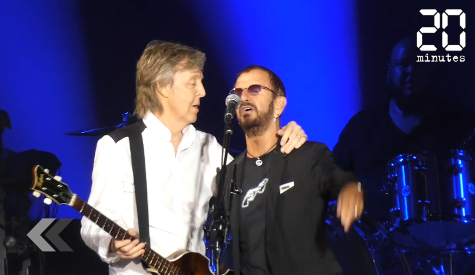 Le Rewind: La moitié des Beatles réunie le temps d'un concert à Los Angeles