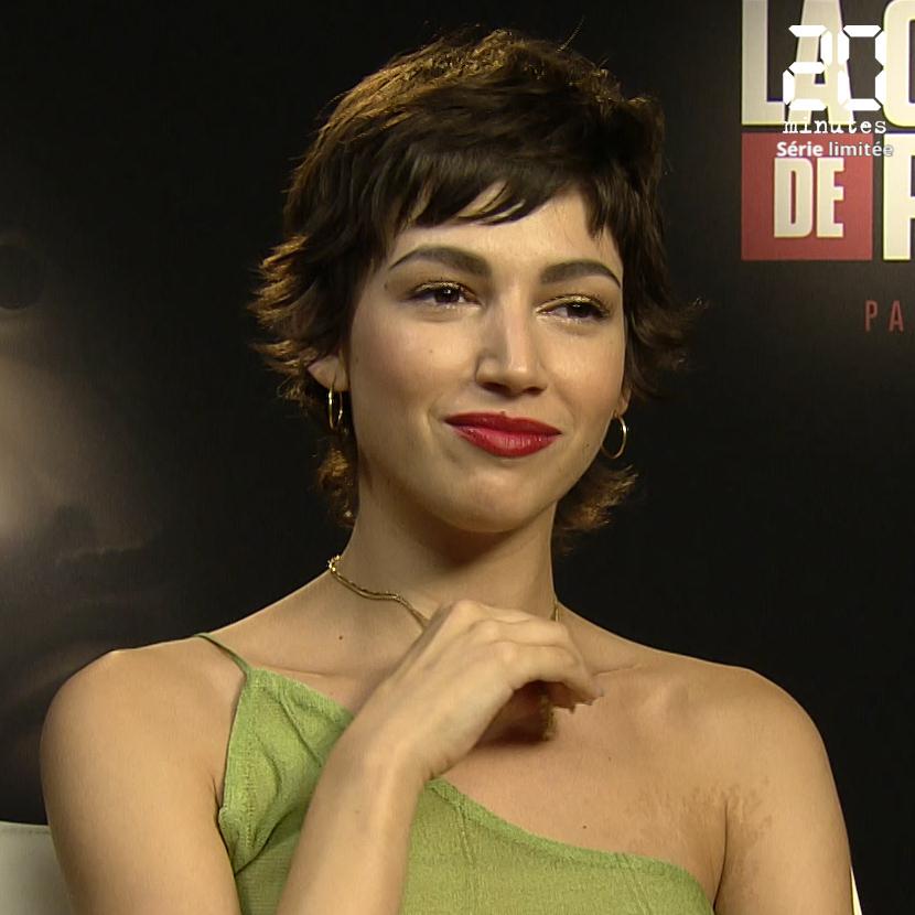 VIDEO. Quand l'actrice de «La Casa de Papel», Ursula Corbero, parle de «Friends», de «Dexter» et de «Big Little Lies»
