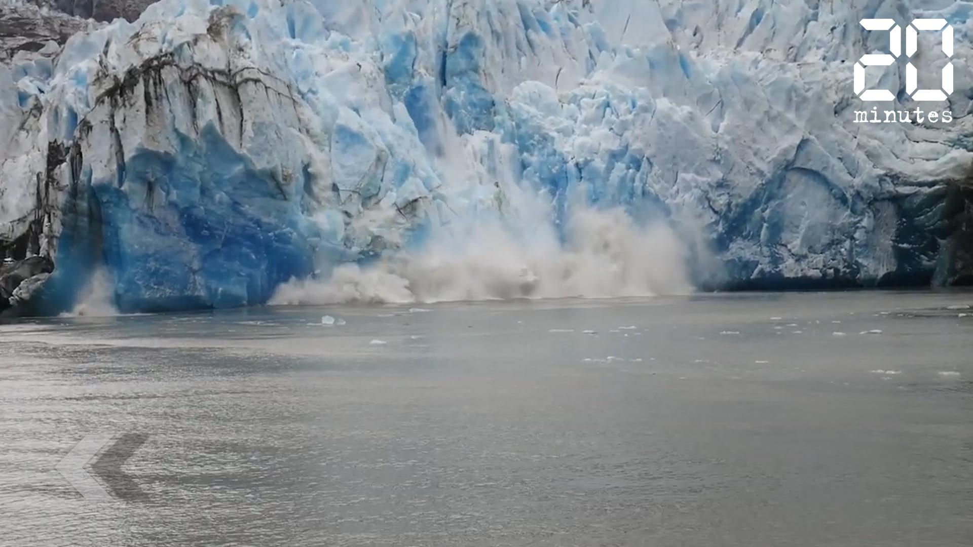 Le Rewind: Un énorme morceau de glace s'est détaché d'un fjord en Alaska