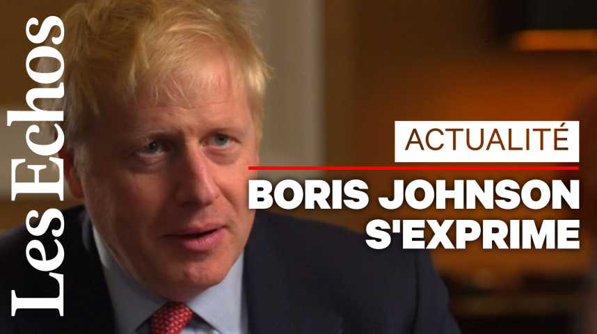 Illustration pour la vidéo Brexit : Boris Johnson reconnaît avoir besoin de la « coopération » des Européens