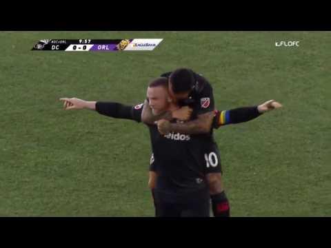 Wayne Rooney inscrit un but fantastique du milieu de terrain en MLS (vidéo)