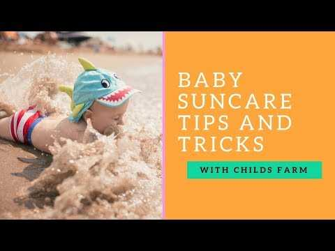 How To Keep Kids Safe In The Sun - Top Tips! With Dr Jennifer Crawley from Childs Farm! #ad