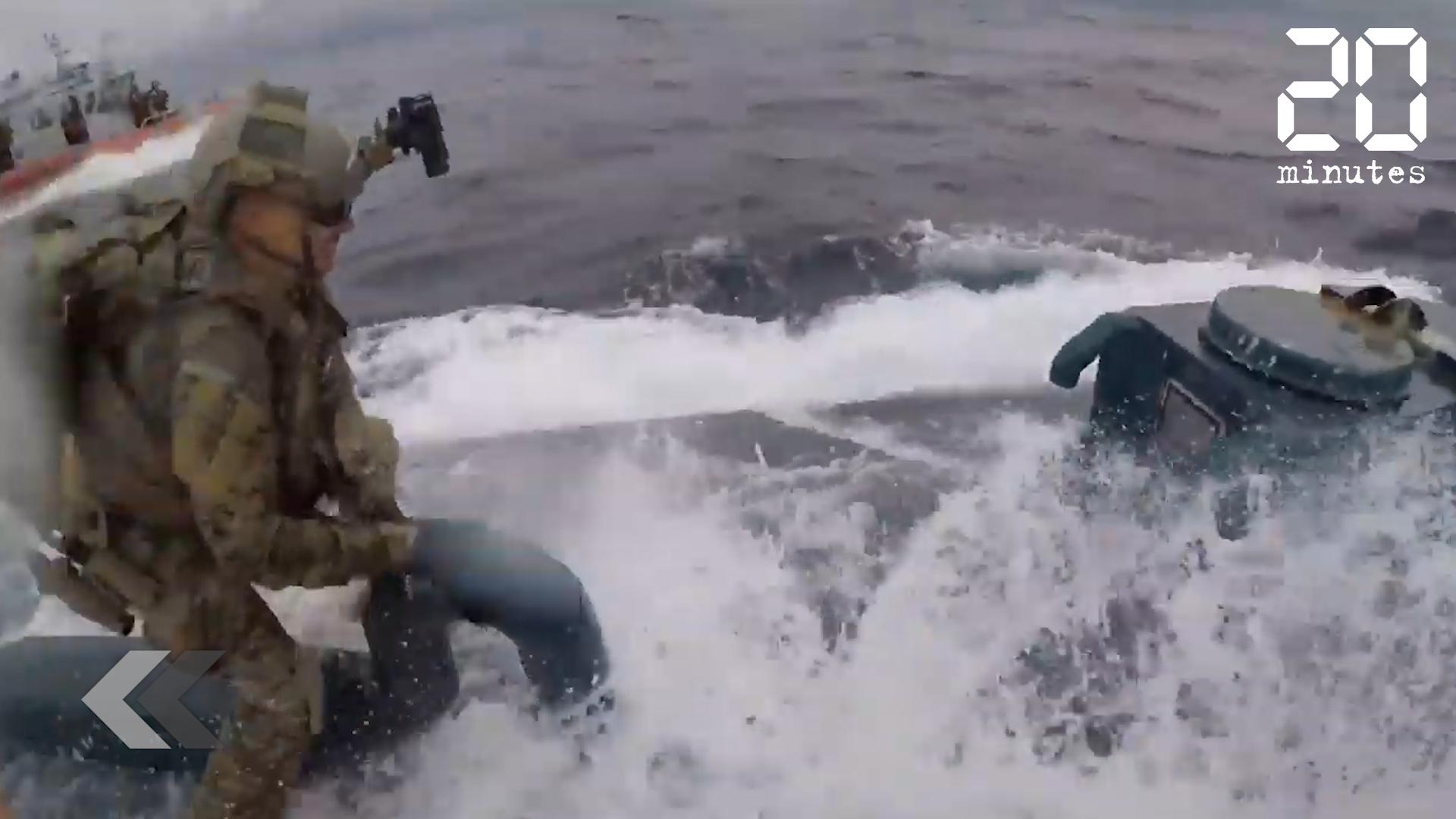 Le Rewind: Des gardes-côtes arrêtent un narco sous-marin rempli de cocaïne
