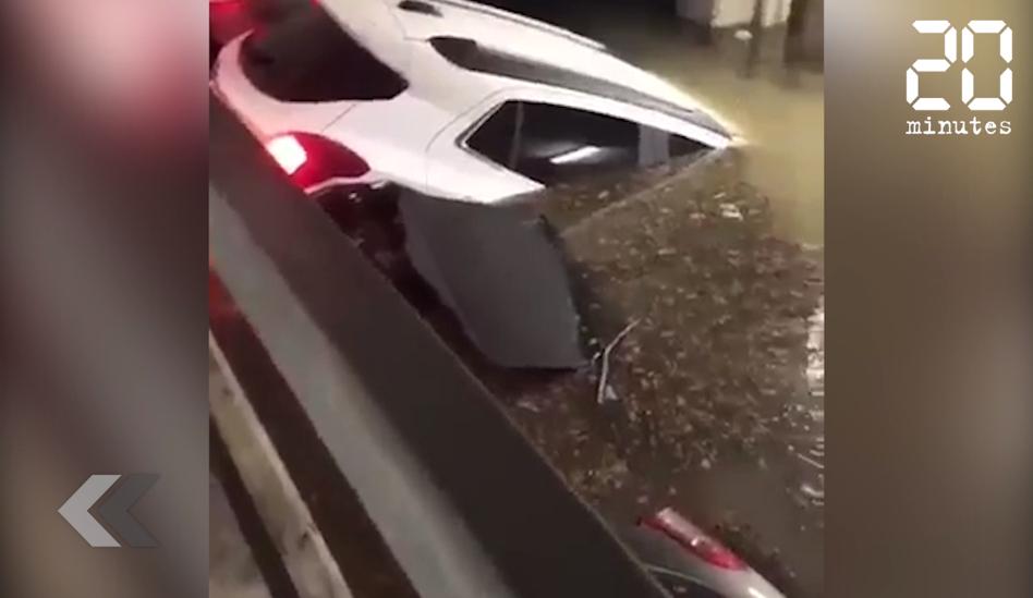 Le Rewind: Une pluie de grêlons fait au moins 18 blessés en Italie