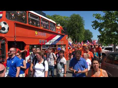 Valenciennes: la marée orange une deuxième fois à Valenciennes