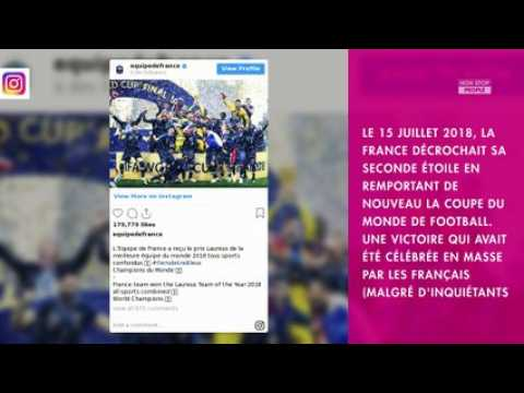 Nagui fan de football : comment il a fêté le sacre des Bleus, un an plus tard