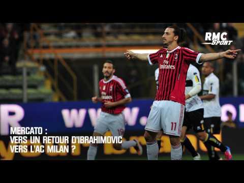 VIDEO: Mercato : Vers un retour d'Ibrahimovic vers l'AC Milan ?