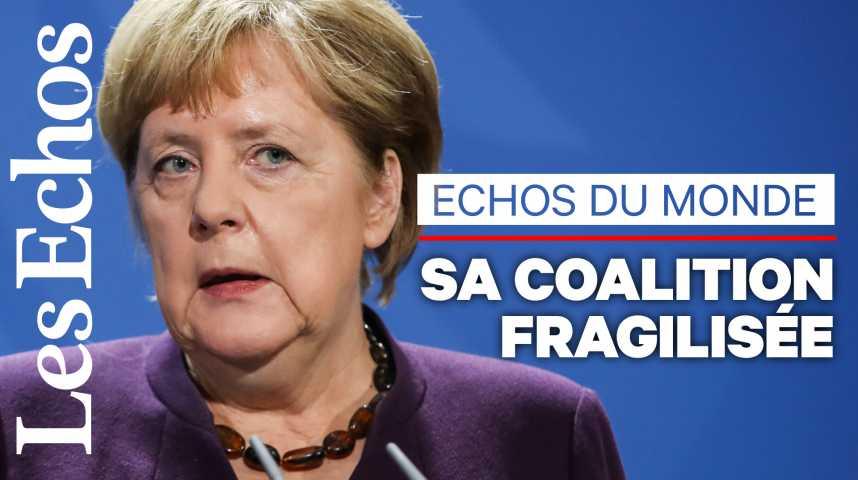 Illustration pour la vidéo L'avenir politique d'Angela Merkel va se jouer dans les prochains jours