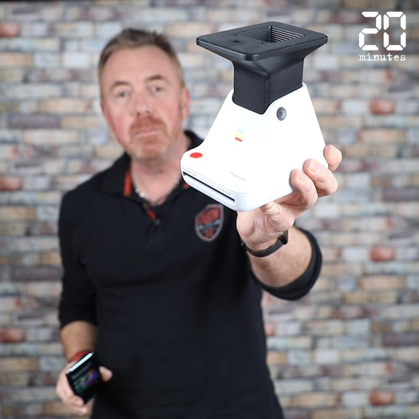 Tic Tech: On a testé le PolaroidLab