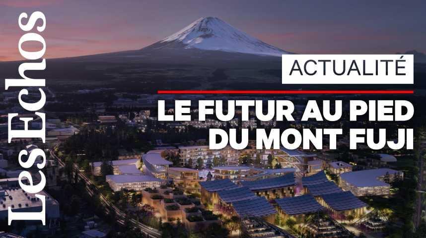 Illustration pour la vidéo Toyota veut construire sa propre «ville du futur» au pied du mont Fuji