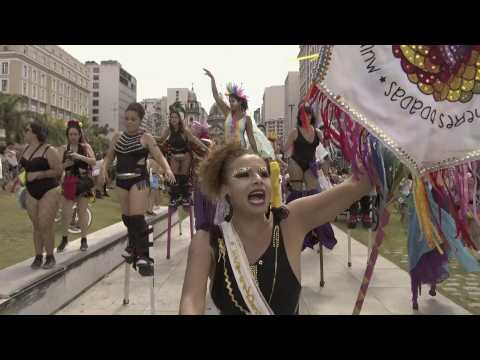 Rio Carnival unofficially opens with feminist anthem, street shows