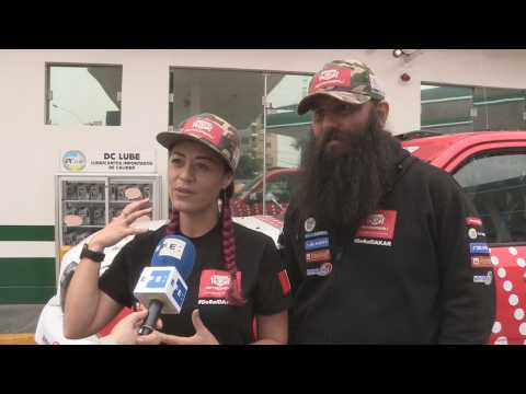 "Fernanda Kanno: ""I appreciate being the first Peruvian woman who ran the Dakar"""