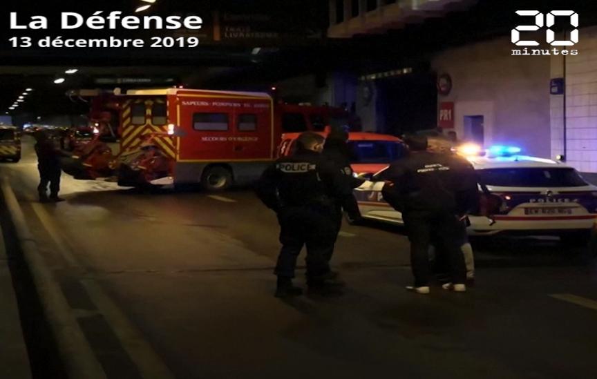 Paris : Un homme menaçant des policiers avec une arme blanche abattu à la Défense