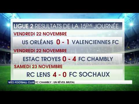 VIDEO: FC Chambly : Un réveil brutal