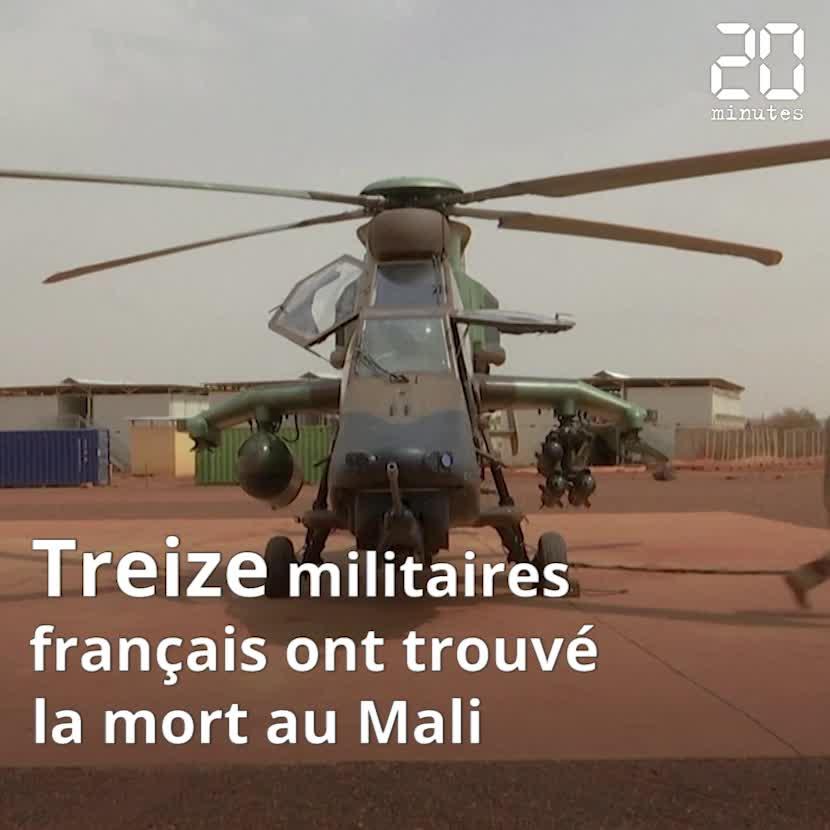 Treize militaires français tués dans une collision d'hélicoptères au Mali