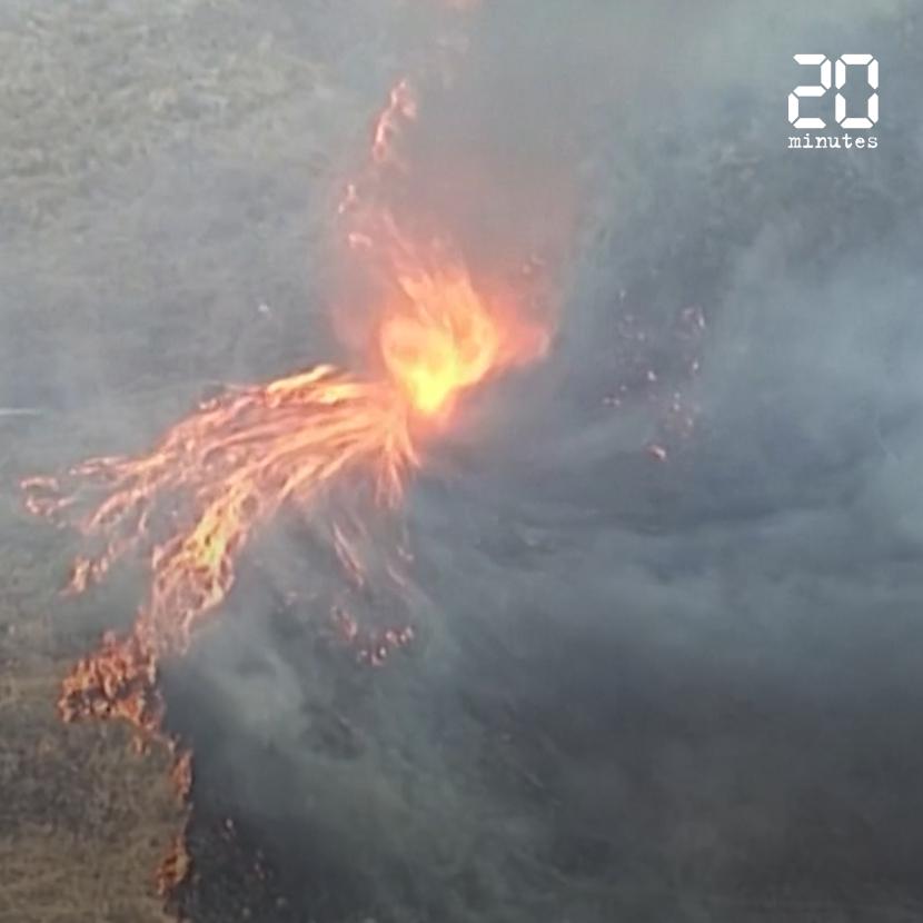Australie: Une tornade de feu filmée dans l'est du pays