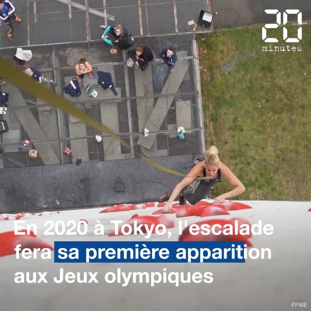 L'escalade aux Jeux olympiques, comment ça marche?