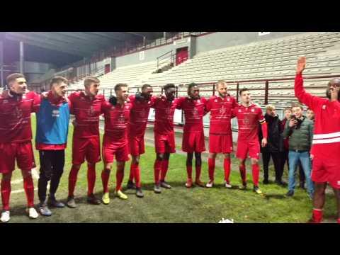 Football. RAQM a fêté la victoire. Vidéo eric.ghislain@sudpresse.be