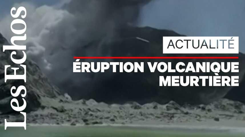 Illustration pour la vidéo Eruption en Nouvelle-Zélande : au moins 5 morts