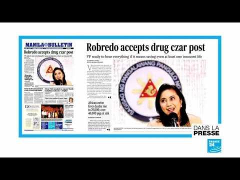 VIDEO: Drogue aux Philippines : l'opposante Robredo rejoint le président Duterte dans son combat