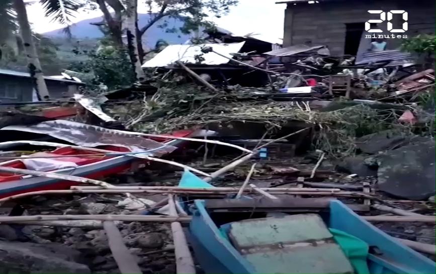Philippines : Au moins 16 morts après le passage du typhon Phanfone