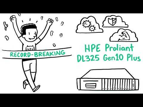HPE ProLiant DL325 Gen10 Plus - AMD EPYC Processors Whiteboard Video