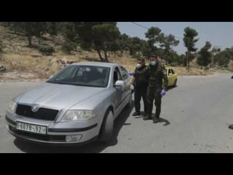 Police controls in West Bank to prevent COVID-19 spread