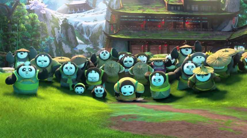 Kung Fu Panda 3 - Extrait 5 - VF - (2016)
