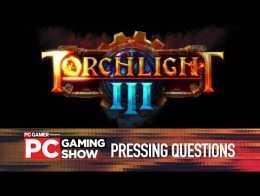 Torchlight 3 Menekan Pertanyaan Wawancara |  PC Gaming Show 2020