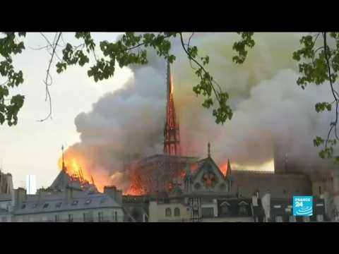 Notre-Dame Cathedral to be restored exactly as it was before April 2019 fire, spire included