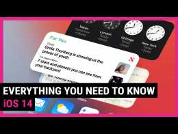 IOS 14 | Everything You Need To Know In 1 Minute