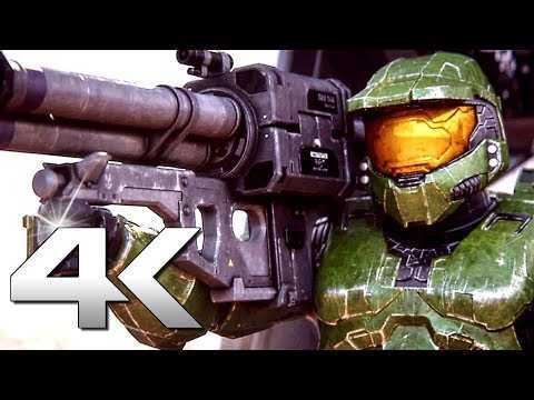 HALO 2 REMASTER The Master Chief Collection Trailer 4K (2020)