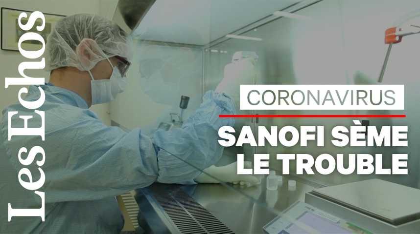 Illustration pour la vidéo Polémique Sanofi : la course au vaccin attise les tensions