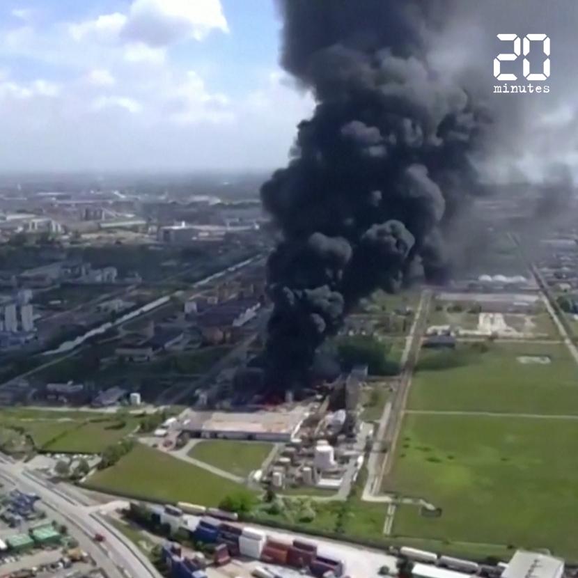 Italie : Alerte à Venise après un incendie dans une usine chimique