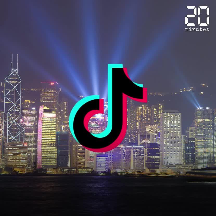 Tiktok suspendu à Hong Kong à cause de la loi sur la sécurité