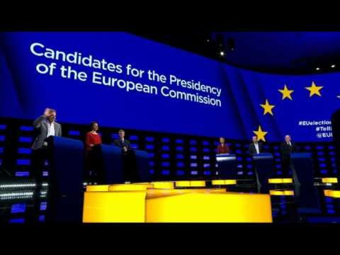 European Commission President candidates debate