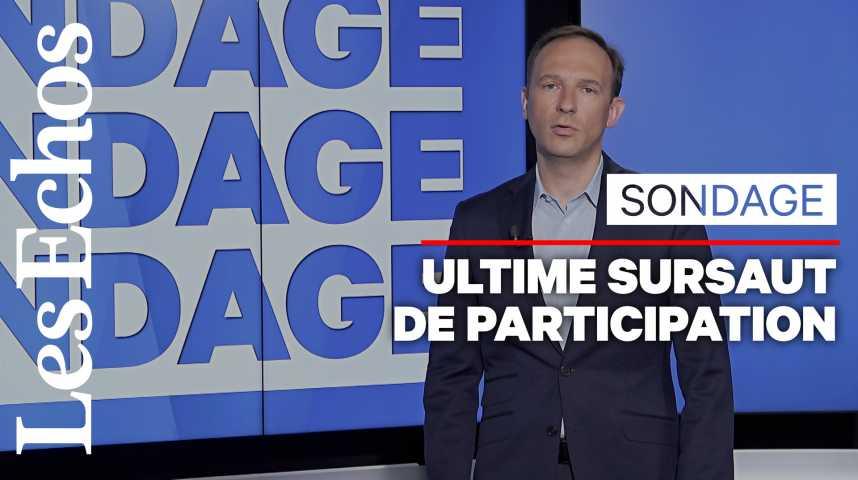Illustration pour la vidéo Elections européennes : la participation remonte, le RN et laREM toujours au coude à coude