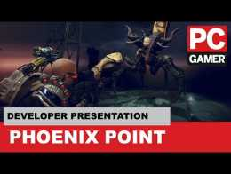 Presentasi tahap penuh Phoenix Point - PC Gamer Weekender 2018