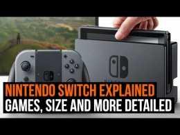 Nintendo Switch Explicado - Jogos, tamanho e mais detalhes!