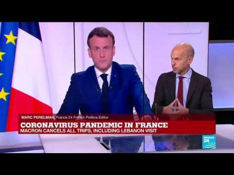 Coronavirus pandemic: Macron met heads of state, leaders before positive test