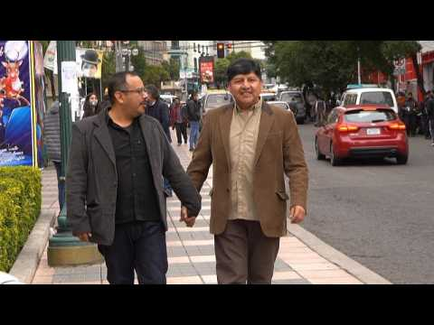 Bolivia recognises same-sex couple's civil union for first time