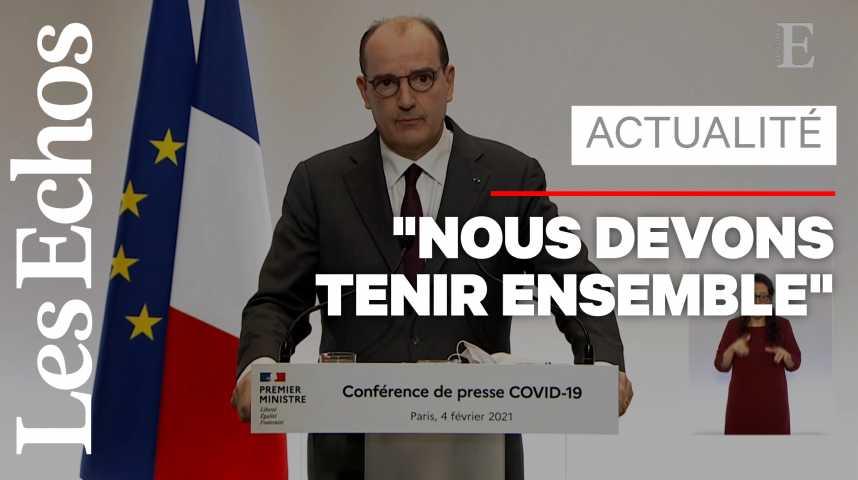 Illustration pour la vidéo «La situation ne justifie pas un nouveau confinement à ce jour», annonce Jean Castex