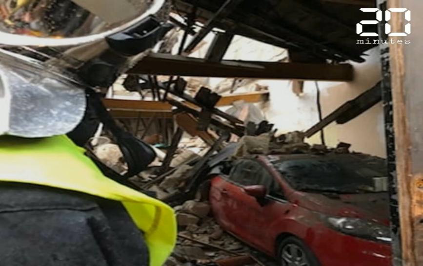 Bordeaux : Une violente explosion souffle un immeuble dans le quartier des Chartrons