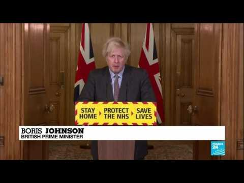 "Sorrow of 100,000 Covid-19 death toll ""hard to compute"", UK PM Johnson says"