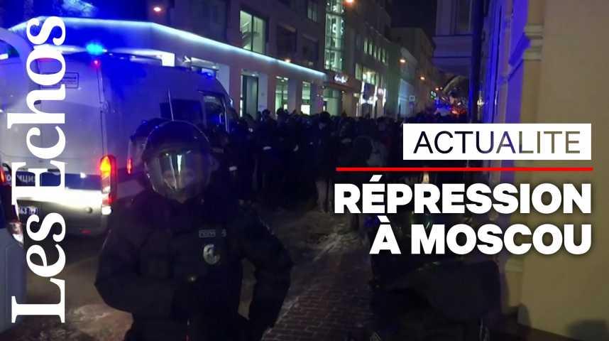 Illustration pour la vidéo En Russie, plus de 1000 arrestations lors de rassemblements pro-Navalny