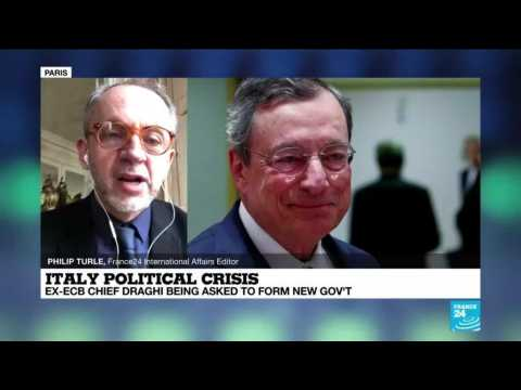 Italy political crisis: Ex-ECB Chief Draghi being asked to form new govt