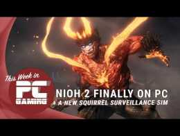 This week in PC gaming: Nioh 2 finally hits PC, a new squirrel surveillance sim arrives