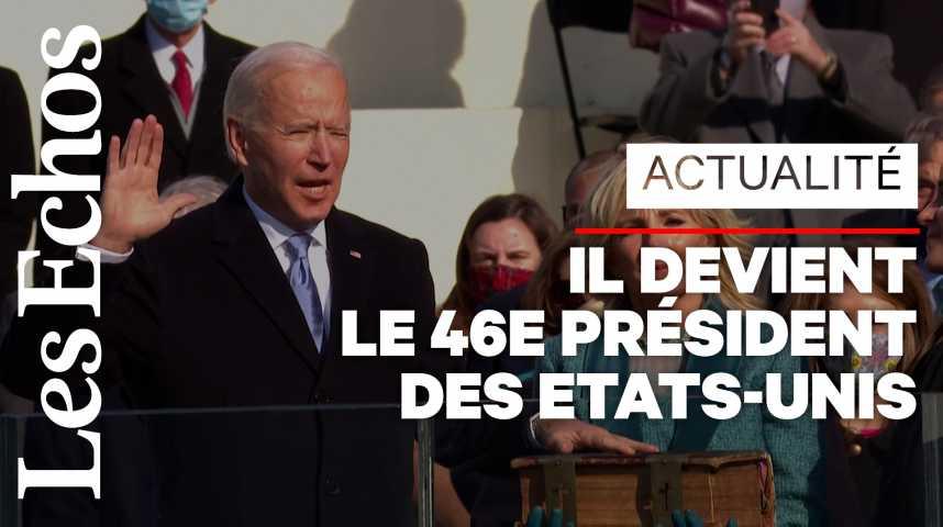 Illustration pour la vidéo Joe Biden a prêté serment
